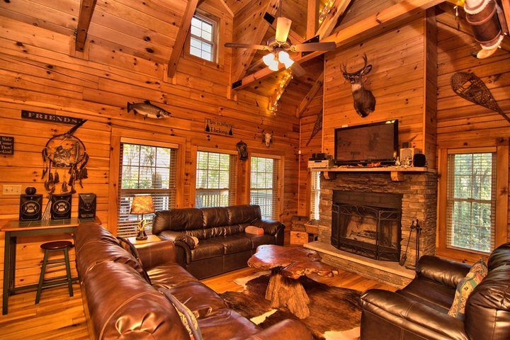 Swell Pocono Vacation Rental Pocono Cabin Rental Poconos Log Interior Design Ideas Inesswwsoteloinfo